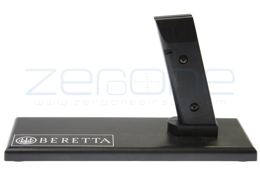 King Arms Pistol Display Stand - Beretta (Black) (for all M92F)