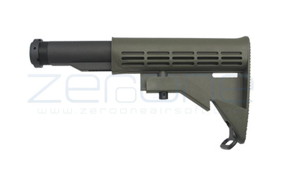 King Arms M4 Retractable Stock (Olive)