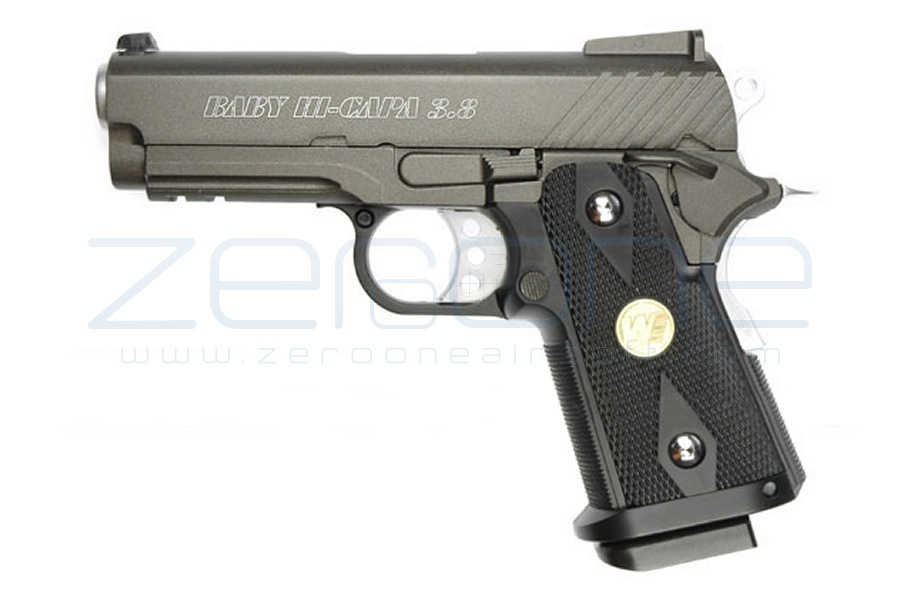 WE GBB Hi-Capa 3.8 Baby (Black)