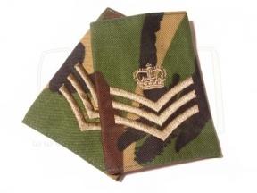 Rank Slide Pair (DPM) - S/Sgt