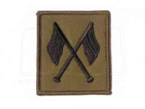 Qualification Badge - Signals Instructor (Subdued) © Copyright Zero One Airsoft