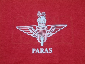 Para T-Shirt (Maroon) - Size Extra Large