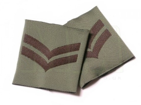 Combat Patch Pair - Cpl (Subdued) © Copyright Zero One Airsoft