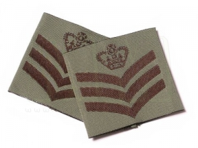 Combat Patch Pair - S/Sgt (Subdued)