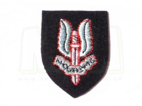 Cloth Capbadge - SAS Rgt. (Colour)