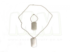 Viper Dog Tags (Silver) © Copyright Zero One Airsoft