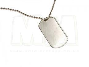 Viper Dog Tags (Silver)