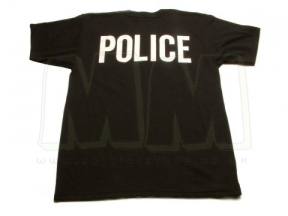 "Tru-Spec ""POLICE"" T-Shirt (Black) - Size Small"