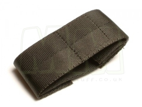 "Tru-Spec Commando Watchband (Black) - 8 1/2"" © Copyright Zero One Airsoft"
