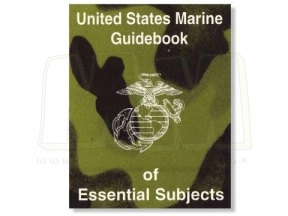 U.S. Genuine Issue United States Marine Guidebook of Essential Subjects