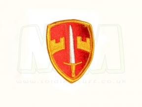 U.S. Genuine Issue (MACV) Sword & Shield (Colour)