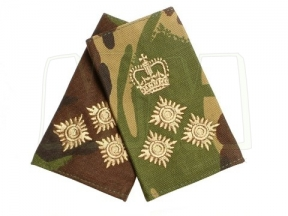 Rank Slide Pair (DPM) - Brigadier