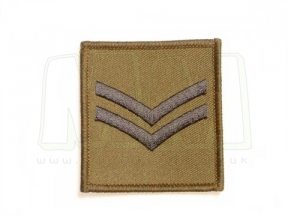 Helmet Rank Patch - Cpl (Subdued)