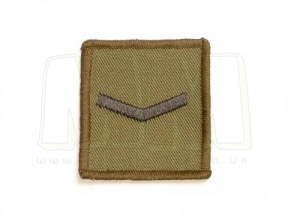 Helmet Rank Patch - L/Cpl (Subdued)