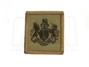 Helmet Rank Patch - WO1 / RSM (Subdued)
