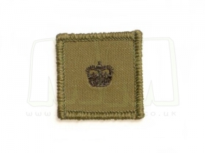 Helmet Rank Patch - Major (Subdued)