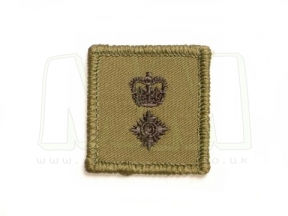 Helmet Rank Patch - Lieutenant Colonel (Subdued) © Copyright Zero One Airsoft