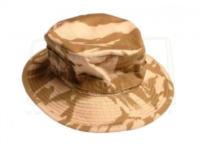 British Genuine Issue Bush Hat (Desert DPM) - Size 53cm