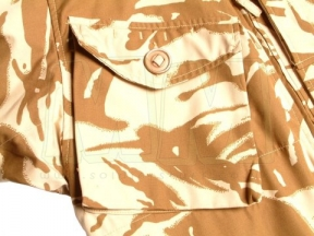 British Genuine Issue Soldier 2000 Windproof Smock (Desert DPM) - Chest 120cm