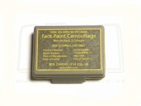 British Genuine Issue 3 Colour Camo Compact