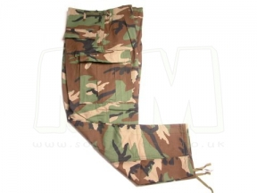 "Tru-Spec U.S. BDU Rip-Stop Trousers (US Woodland) - Size L 35-39"" © Copyright Zero One Airsoft"