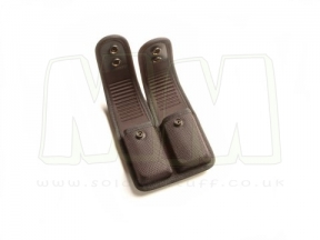 Blackhawk Duty Gear Double Mag Pouch - Staggered Column Mags (Black)