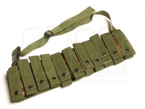 British Genuine Issue PLCE 40mm Grenade Bandolier 11 Shells (DPM)