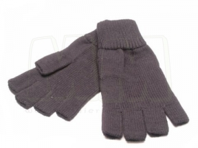 TracPac Acrylic Fingerless Mitts (Black)