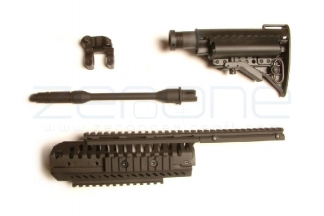 King Arms CASV Handguard & Modstock Kit (Black) © Copyright Zero One Airsoft