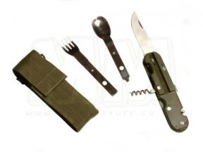 TracPac E.U. Military Cutlery Set