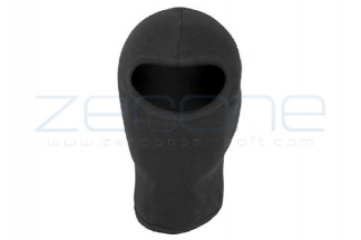 Mil-Com Lightweight Cotton Open Face Balaclava (Black)