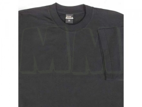 Mil-Com Plain T-Shirt (Black) - Size Medium