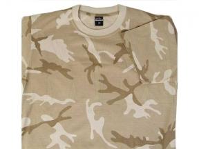 TracPac Plain T-Shirt (Desert DPM) - Size Extra Extra Large