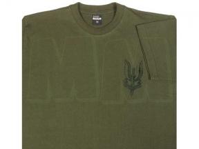 TracPac T-Shirt with SAS Emblem (Olive) - Size Extra Large