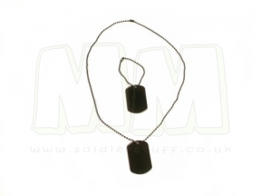 Viper Dog Tags (Black)