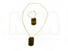 Viper Dog Tags (Gold)