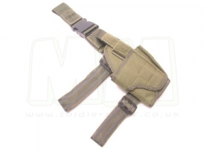 Viper Pistol Drop Leg Adjustable Holster (Olive) © Copyright Zero One Airsoft