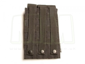Viper MOLLE PM5 Triple Magazine Pouch (Black)