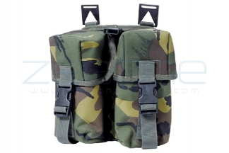 Web-Tex Double Ammo Pouch (DPM)