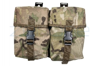 Web-Tex Double Utility Pouch (MultiCam)