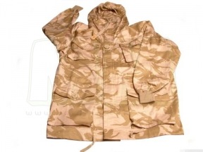 Web-Tex British Style SAS Windproof Rip-Stop Smock (Desert DPM) - Size 96cm Chest
