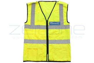 Zero One VizMax Pro Reflective Marshal Vest - Size Large © Copyright Zero One Airsoft
