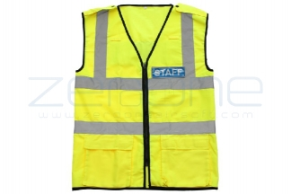 Zero One VizMax Pro Reflective Staff Vest - Size Extra Large © Copyright Zero One Airsoft